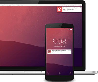 Crome - Android Web Push Notification