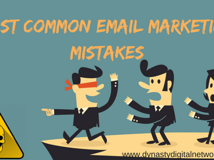 Most Common Email marketing mistakes